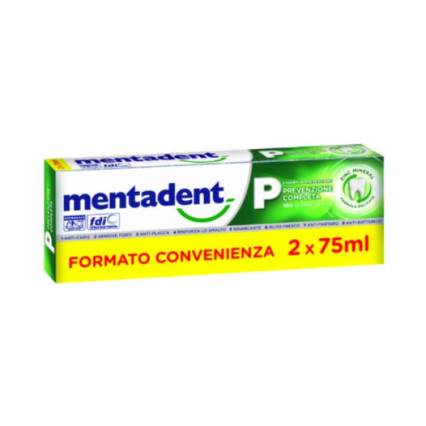 MENTADENT P 2X75MLBITUBO PROM