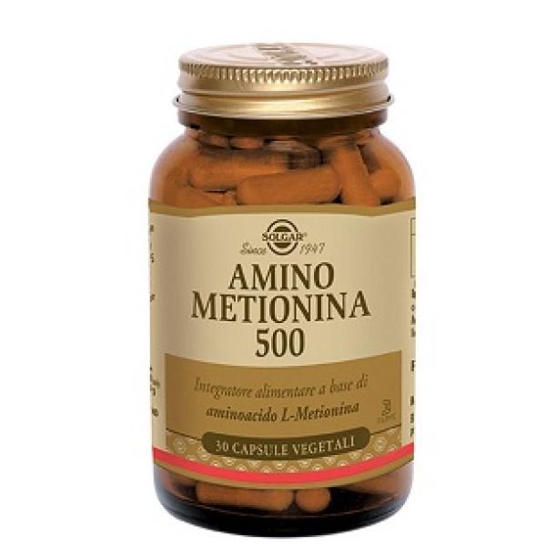 AMINO METIONINA 500 30CPS SOLGAR
