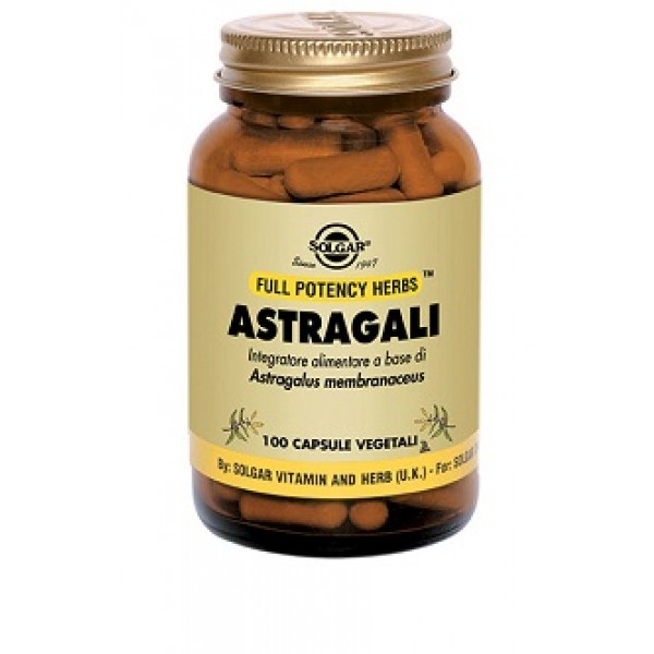 ASTRAGALI 100VEGICPS SOLGAR