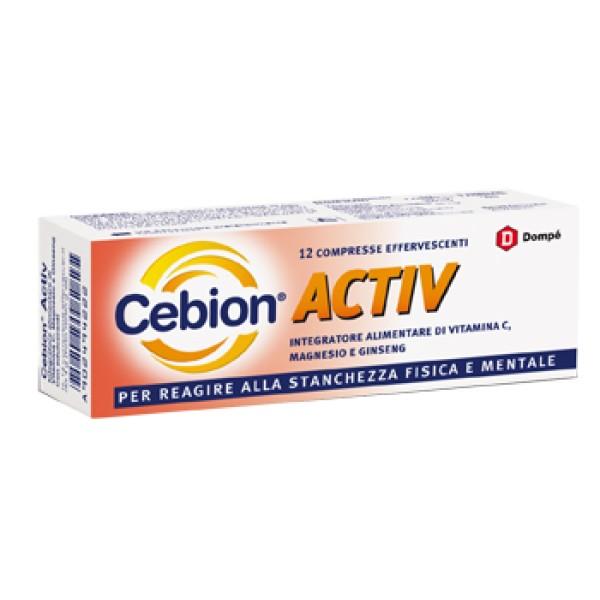 CEBION ACTIV 12CPR EFFERV 4G