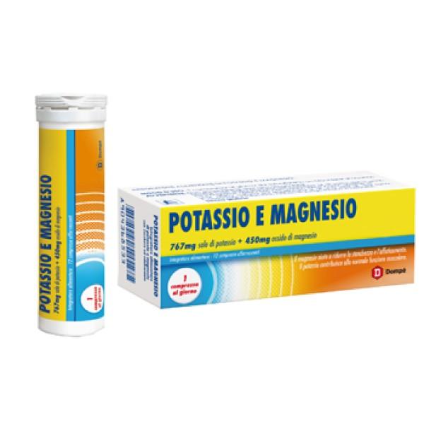 POTASSIO+MAGNESIO 12CPR BRACCO