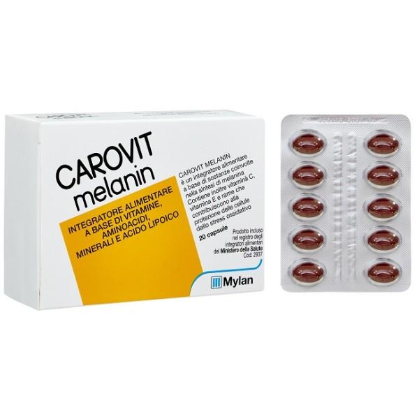 CAROVIT MELANIN 20CPR