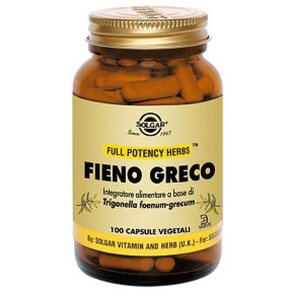FIENO GRECO MSO 100CPS SOLGAR