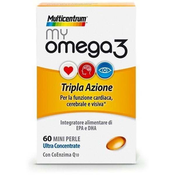 MULTICENTRUM MY OMEGA3 60CPS
