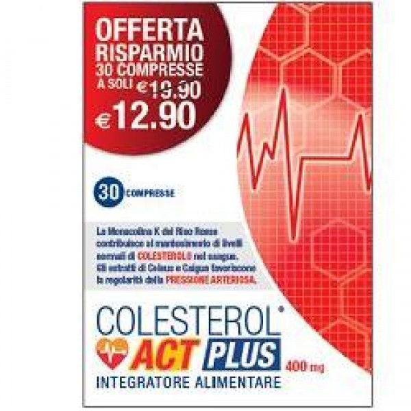 COLESTEROL ACT PLUS 30CPR 400MG