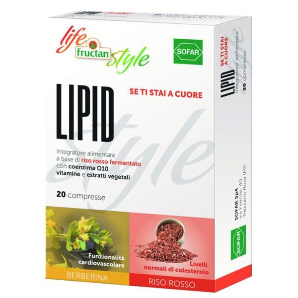 FRUCTAN LIPID 20CPR