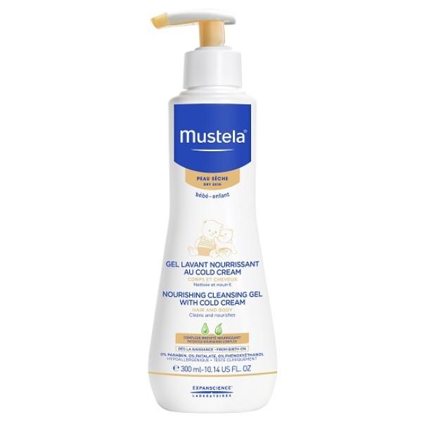 MUSTELA DET NUTR COLD CREAM 300M