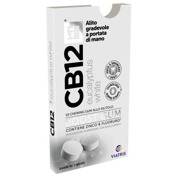 CB12 BOOST EUCAL WHITE 10CHEW
