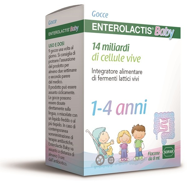 ENTEROLACTIS BABY GOCCE 8ML