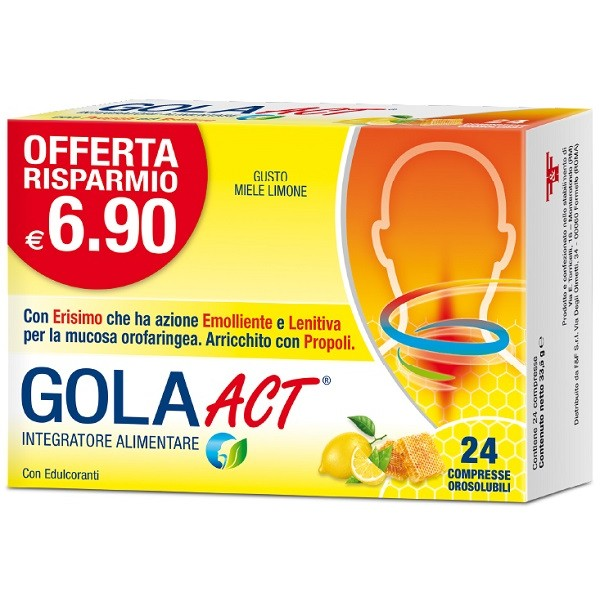 GOLA ACT MIELE LIMONE 62,4G