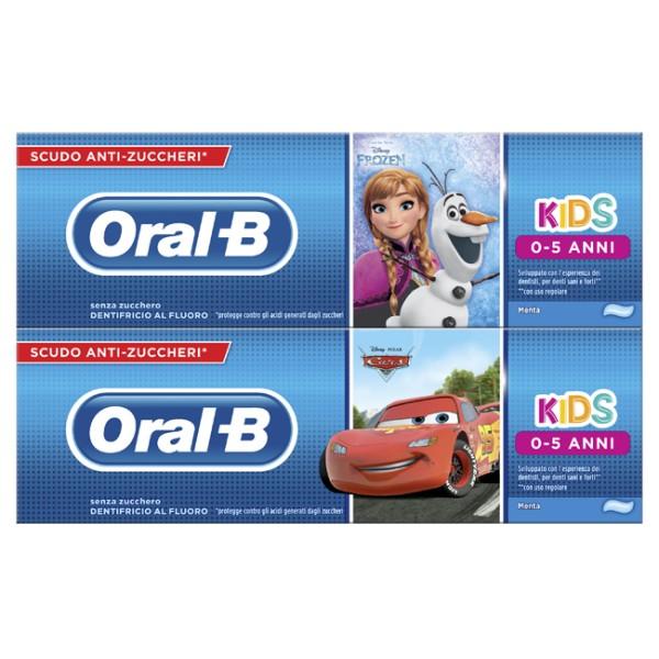 ORAL B DEN KIDS FROZ&CAR 0-5 75