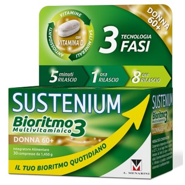 SUSTENIUM BIORITMO3 DO 60+ 30CPR