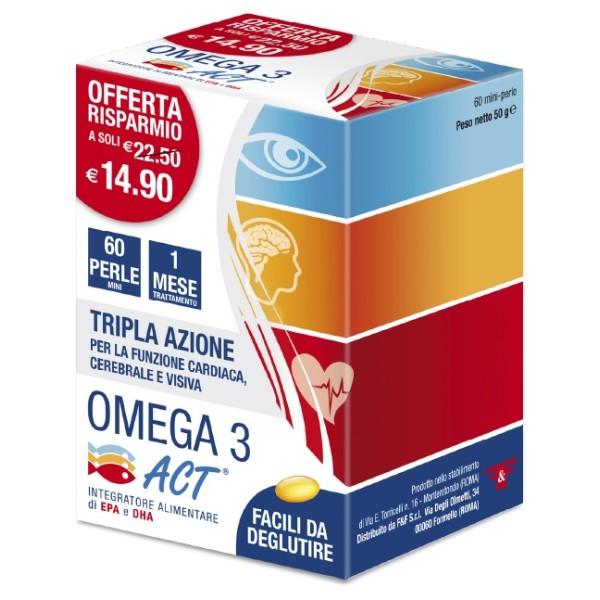 OMEGA 3 ACT 60PRL 540MG