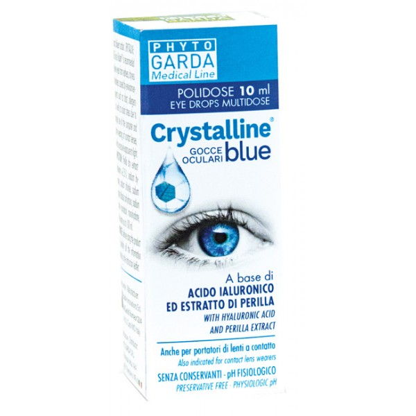 CRYSTALLINE BLUE GTT POLIDOSE