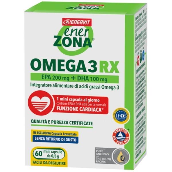 ENERZONA OMEGA 3 RX 60CAPS 0,5G