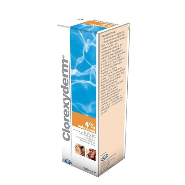 CLOREXYDERM SOL 4% 100ML VET
