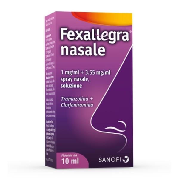 FEXALLEGRA NASALE*SPRAY FL10ML
